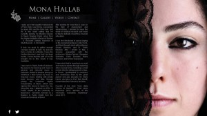 Mona Hallab web design