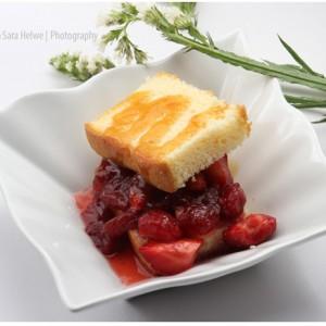 English cake dessert